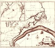 Franklin's 1770 map of the Gulf Stream (Image courtesy of NOAA Photo Library)