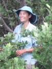 Me at work in the Florida mangroves.