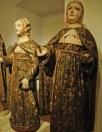 Peças de arte sacra, expostas no Museu Municipal