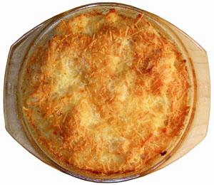 Paste gratinate la cuptor
