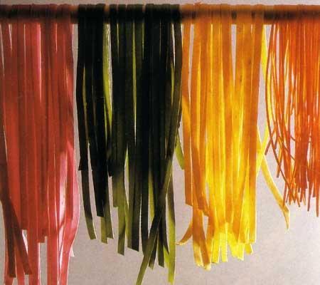 Aluat de paste colorat