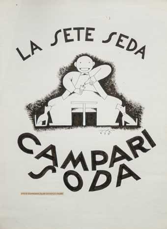 Sergio Tofano Campari Soda