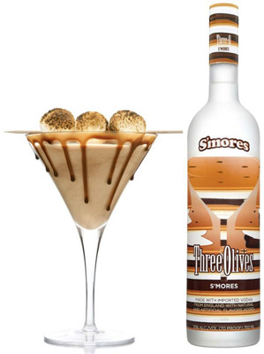 Votcă S'mores Three Olives