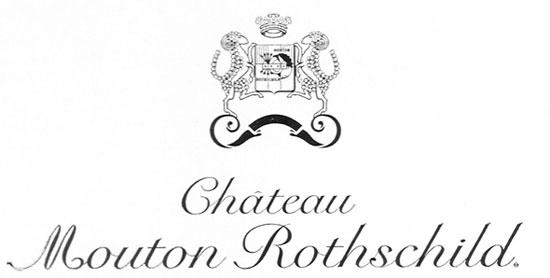 Blazon Chateau Mouton Rothschild