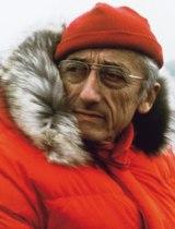 Jacques Cousteau (1910-1997) - Oficial naval, explorador e investigador francés.
