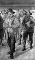 Hombres de mar. Regreso al hogar (Michael Ancher, 1849-1927)