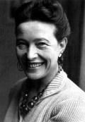 Simone de Beauvoir (1908-1986), filósofa y escritora francesa.