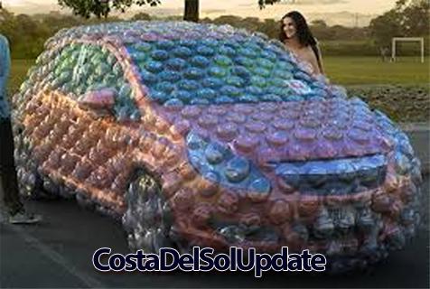 Bubble Wrap Car