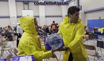 Costa Del Sol Storm Relief Effort Underway