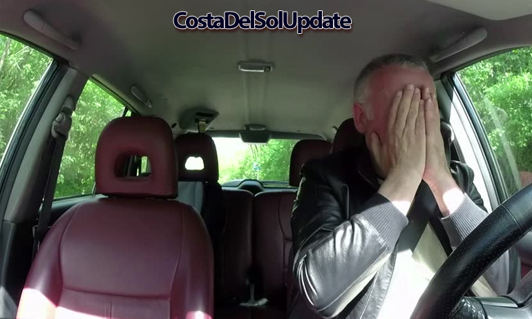 Frightened Driver