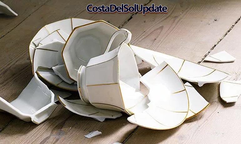 Smashed Tea Cups