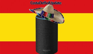 Amazon Launch Alexa In Spain, alexa, amazon echo, costa del sol, spain, alexa spain, echo spain,