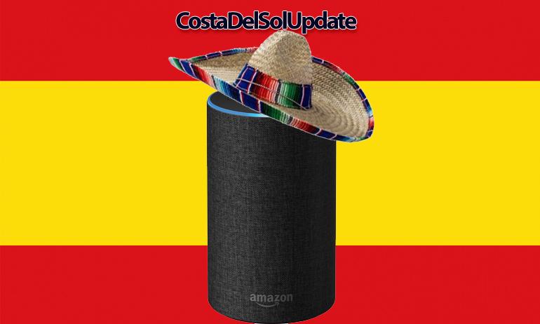 Amazon Launch Alexa In Spain, alexa, amazon echo, costa del sol, spain, alexa spain, echo spain,