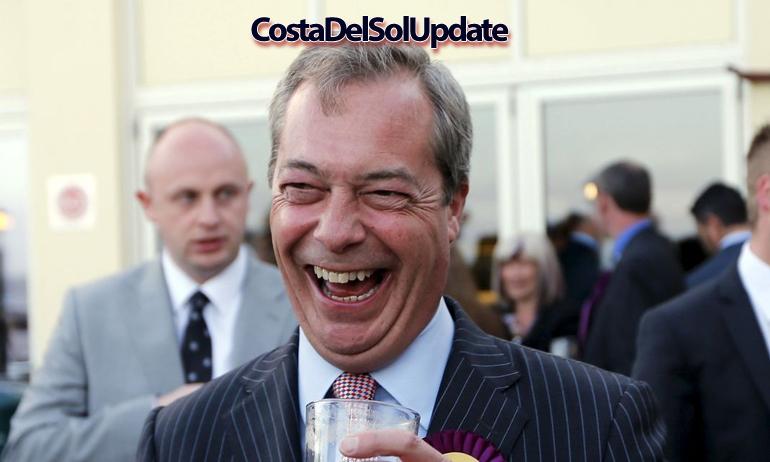 Anger Over Spanish Honour For Nigel Farage