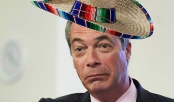 Nigel Farage Sombrero