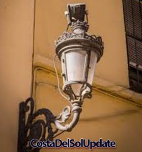 Malaga Street Light