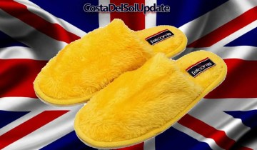 Visitors To Britain Forced To Wear Slippers