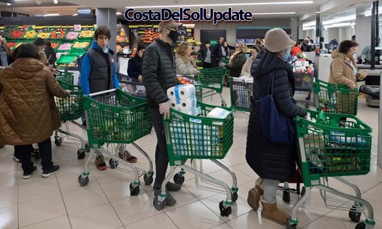 Spain Supermarket Coronavirus