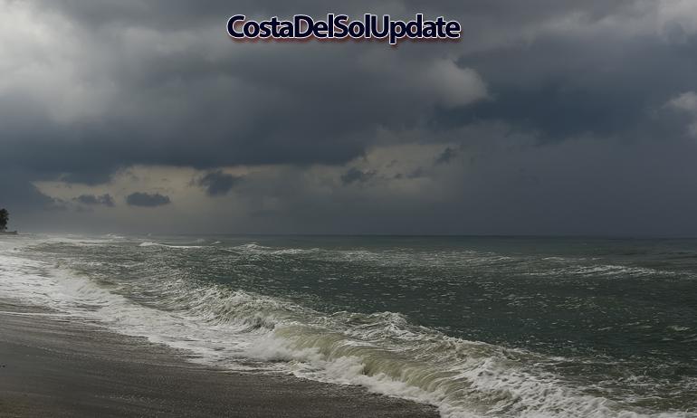 Beach storm 2