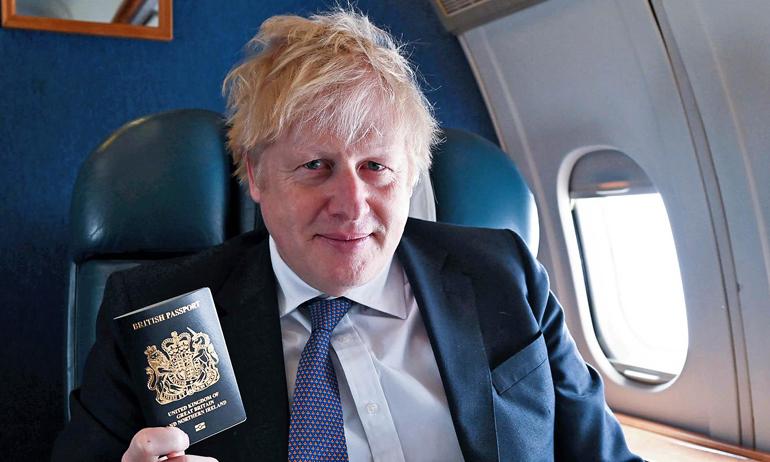 Boris Blue Passport