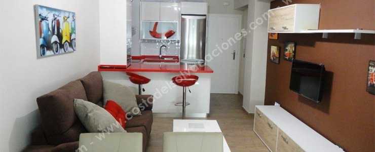 Rental apartment in Torre del Mar with pool