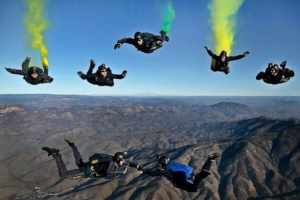 Califoni skydivers costs of license