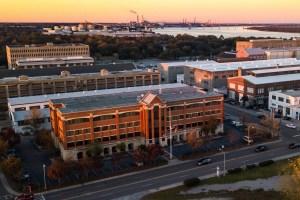 Atlanta-based Jamestown has joined the development team seeking to repurpose the former North Charleston Navy Yard into a mixed-use neighborhood. (Jared Dangremond, Jamestown)