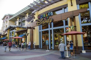 Disney is closing branded store locations as it shifts its retail focus online. (Getty Images)