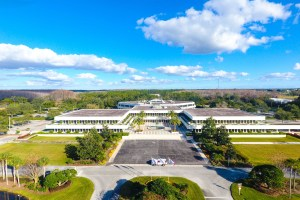 Marcus & Millichap secured the listing for the sale of Tupperware Brand's headquarters sale in Kissimmee, Florida. (Marcus & Millichap)