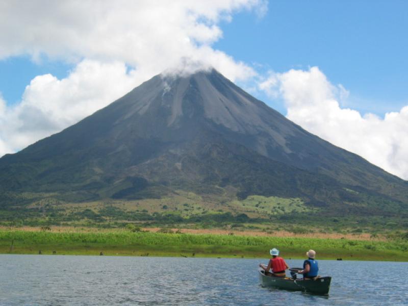 Lake Arenal Fishing Volcano View