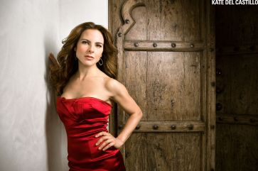 Portrait of Mexican actress Kate DelCastillo by entertainment photographer Michael Grecco