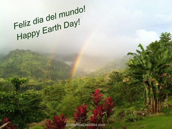 Rainbow Earth Day Las Villas
