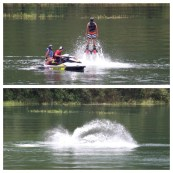Flyboarding,  Arenal Lake