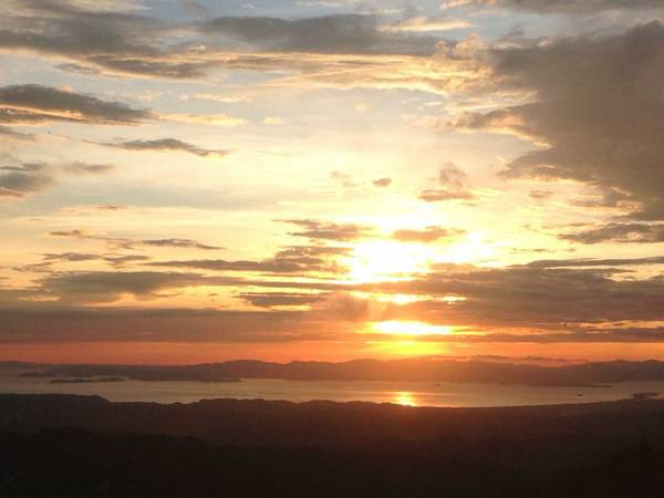 Sunsets from House for rent San Ramon Costa Rica