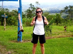 Nikki - Embarking on the Cerro Chato Hike