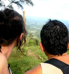 Nikki & Ricky - Looking Out On Our Future Together From Cerro Chato