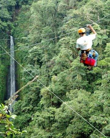 Canopy Tour (Ziplining) - Arenal Mundo Aventura