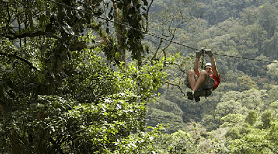 Canopy Tour Ziplining Arenal Mundo Aventura Best Zipline Costa Rica