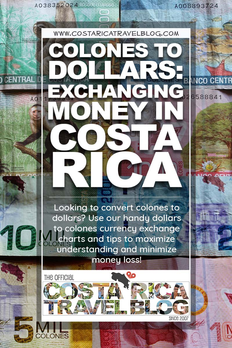 2019) Costa Rican Colones To American Dollars: Exchanging