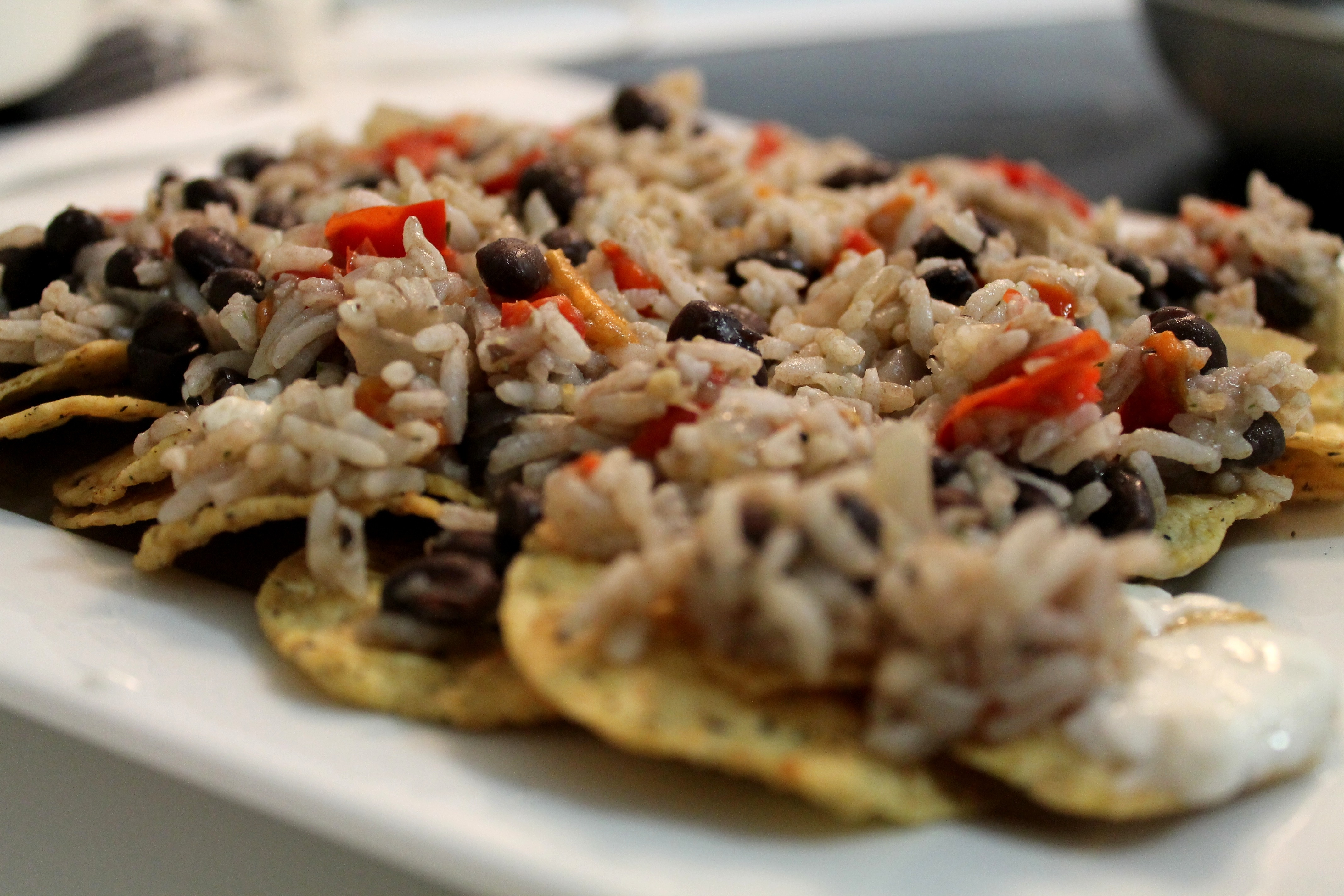 Costa Rica's Eye on the 2012 US Presidential Election Results and an Obama-Inspired Recipe for Gallo Pinto Guaco-Nachos to Celebrate the Democratic Win!