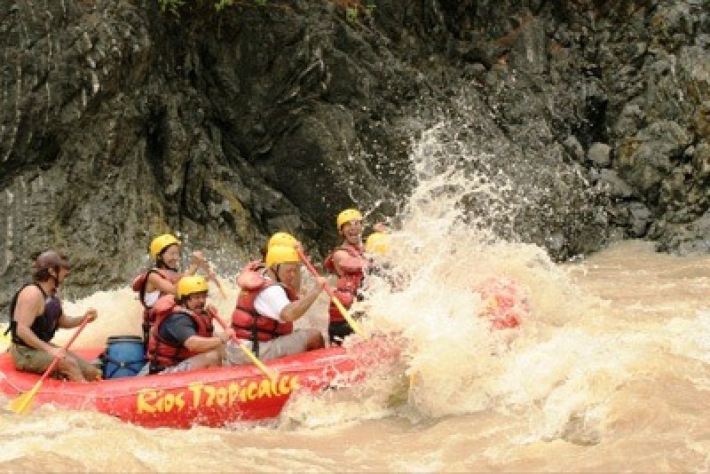 best river for rafting in Costa Rica