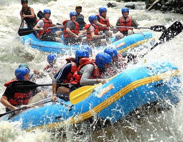 Reventazon River Rafting Tour