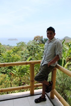 Ricky - at Costa Rica's Si Como No (non-all-inclusive) Resort!