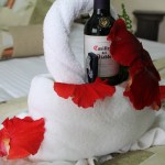 A room surprise for honeymooners!