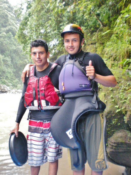 Ricky; with Leo, an awesome friend and river rafting guide