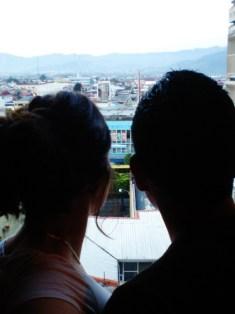 Nikki & Ricky - overlooking downtown San Jose