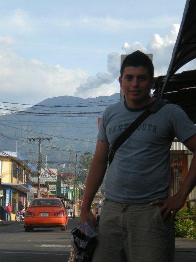 Ricky - Turrialba Volcano downtown