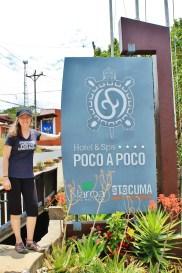 Nikki; at Hotel Poco A Poco