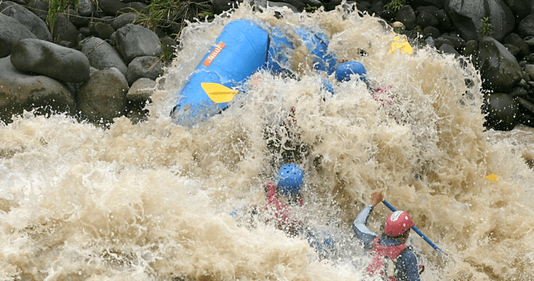 White Water Rafting Costa Rica: Go Big Or Go Home