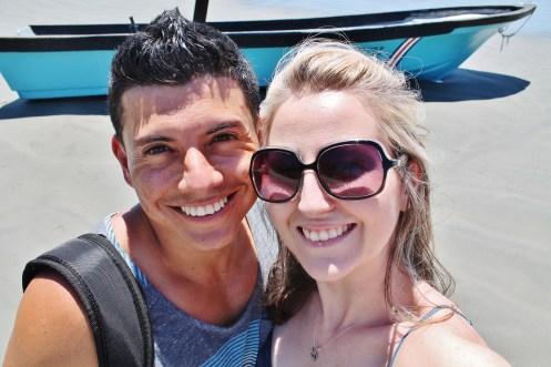 Ricky and Nikki; Playa Samara